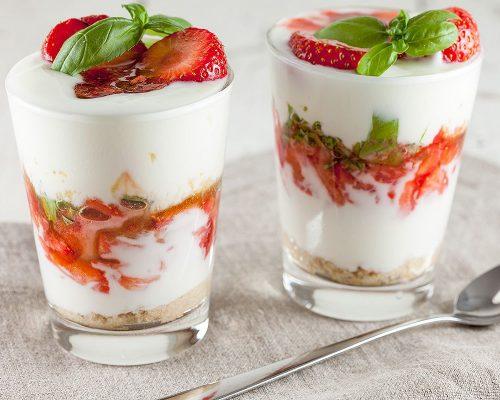 Воздушный йогурт