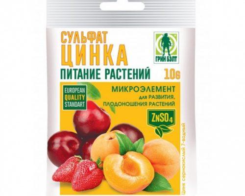Сульфатом цинка (Цинк сернокислый)