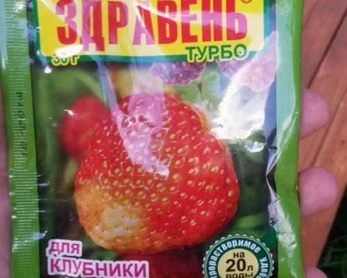 Здравень Турбо для клубники и малины